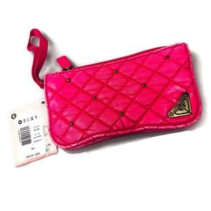 Roxy | NWT Pink Quilted Bi-Fold Women's Wallet